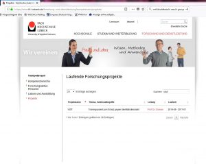 VISIT FH Lübeck Forschungsprojekte